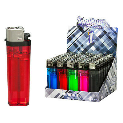 50 Cigarette Lighter Disposable Lighters Wholesale Pack (not BIC) FREE SHIPPING