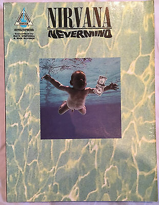 Nirvana - Nevermind - Music Book - Guitar Recorded Versions