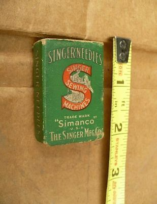 Vintage Singer Featherweight Simanco Box of Needles 200+