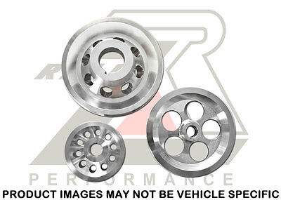 Ralco RZ Performance Underdrive Pulley Set Honda Prelude 92-96 / F22A H22A H23A