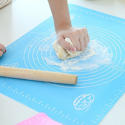 New Silicone Fibreglass Baking Mat Silpat Rolling Dough Liner Flour Kneading Pad