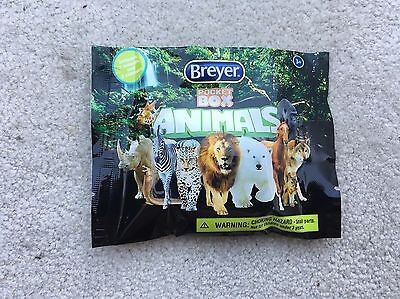 New NIP Breyer Pocket Box Wild Animals Blind Bag Unopened #1584 Surprise Mini