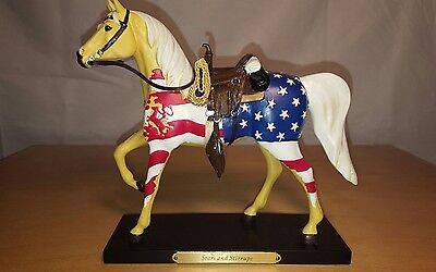 "Trail Of Painted Ponies 2010 1E/6,416.    "" Stars And Stirrups "" Item #4018392"