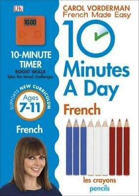 10 Minutes a Day French by Carol Vorderman 9780241225172 (Paperback, 2016)