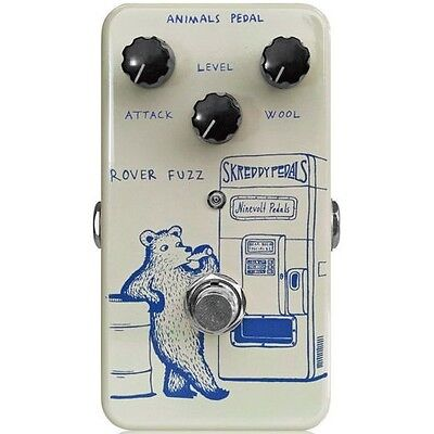 Animals Pedal Rover Fuzz - Guitar Effect Pedal