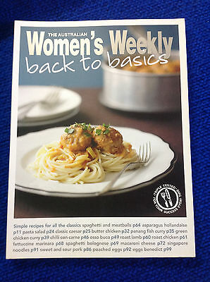 Back to Basics by The Australian Women's Weekly (Paperback, 2010)