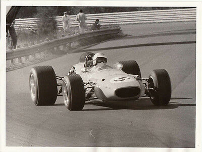 Alec Mildren Team Brabham - 2.5 Alfa V8 Warwick Farm July 21 1968 Photograph.
