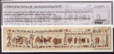 Alderney 2014 Bayeux Tapestry Miniature Sheet Unmounted Mint, Mnh