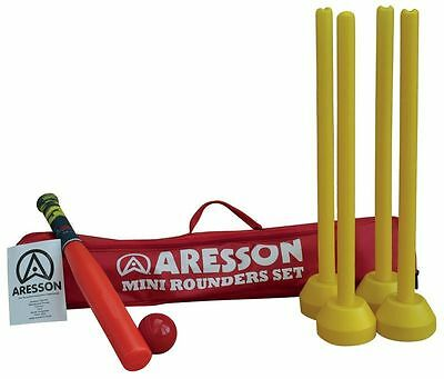 Aresson Kids Introduction Garden Games Mini Rounders Set