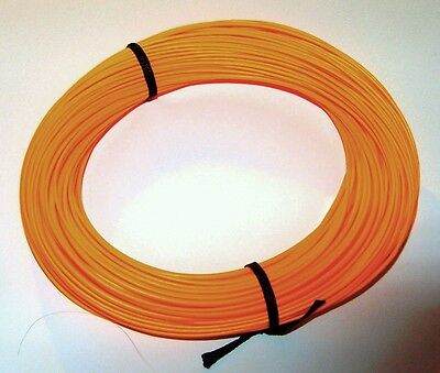 LEVEL RUNNING FLY LINE - PREMIUM Floating - 2wt - 0.9mm - Orange