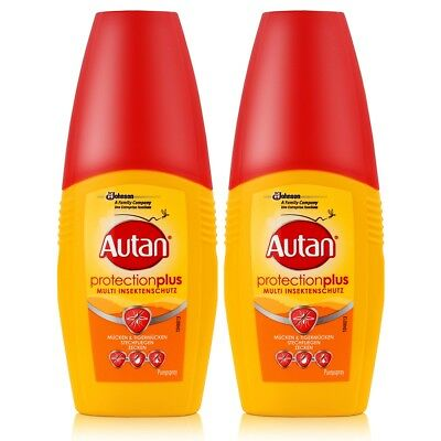 Autan Protection Plus Multi Insektenschutz Pumpspray 100ml (2er Pack)