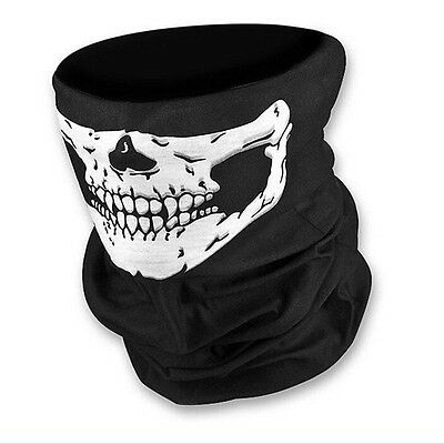 Ghost Bicycle Neck Face Motorcycle Scarf Bandana Skull Mask Bike