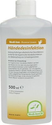 Medi-Inn Händedesinfektion 500 ml