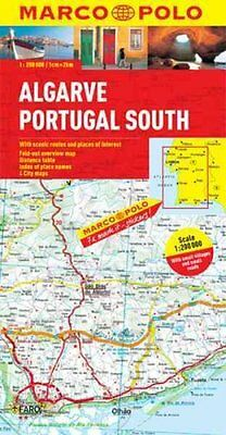 Algarve, Portugal South Marco Polo Map by Marco Polo 9783829767545