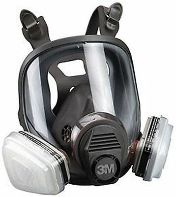 3M 7163 Full Facepiece Respirator Packout 07163, Organic Vapor/P95, Large - New