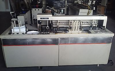 Bell and Howell Inserter Mail Star 200 Great running machine (Video Available)