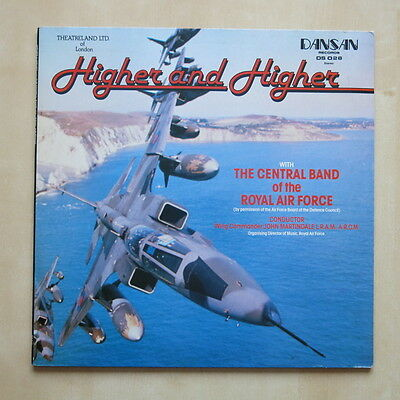 CENTRAL BAND OF THE ROYAL AIR FORCE Higher And Higher UK vinyl LP Dansan DS 028