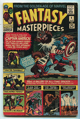Fantasy Masterpieces #4 VG+  From The Golden Age Of Marvel   Marvel SA