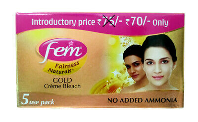Fem Gold Cream Bleach From Dabur