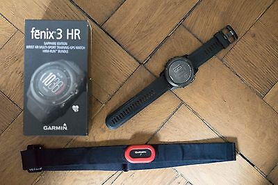 Garmin Fenix 3 HR Performer Bundle