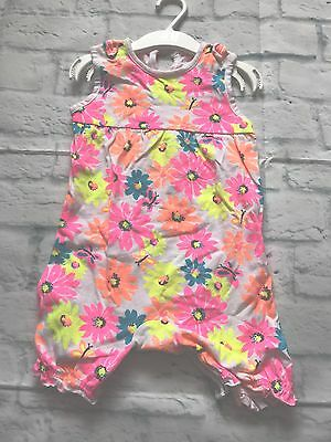 Baby Girls Clothes 9-12 Months - Cute Summer Jumpsuit Romper Outfit