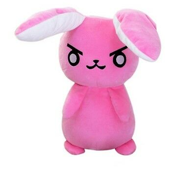 Overwatch OW DVA D.VA Rabbit Plush Doll Soft Toy Stuffed Cute Cosplay Prop Gift