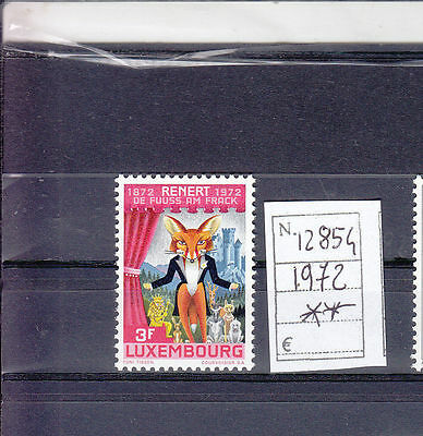 1972 The 100th Anniversary of Publication of Rénert the Fox by Michel Rodange