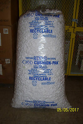 Packing Peanuts Shipping Loose Fill 109 Gallons 14 Cubic Feet White