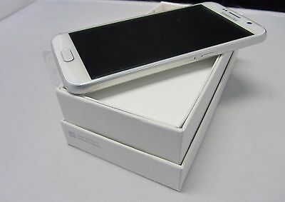 New In Box Verizon White Pearl Samsung Galaxy S6 SM-G920V Smartphone