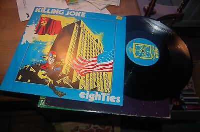 "11799 Killing Joke Eighties 12"" Single Buy 5 LP's For £6 Post UK"