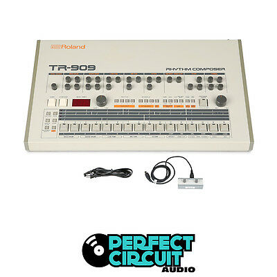 Roland TR-909 TR909 DRUM MACHINE - MODS - VINTAGE - PERFECT CIRCUIT