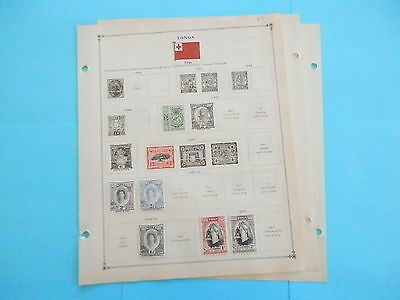 Tonga/togo Old Collection 1897-1934 Extra Fine Dr Schultz Estate !!9185T
