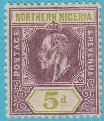 Northern Nigeria 33 Mint Hinged Og No Faults Extra Fine