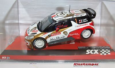 SCX 10a10158 Citroen DS3 ABU DHABI S.LOEB 1:3 2 Analogue NIP
