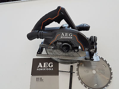 AEG 18v Brushless Circular Saw Limited Edition - New never used
