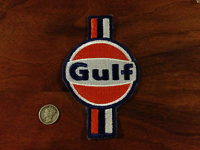 Vintage Gulf Oil & Gasoline Company Le Mans 917 Steve McQueen Advertising Patch