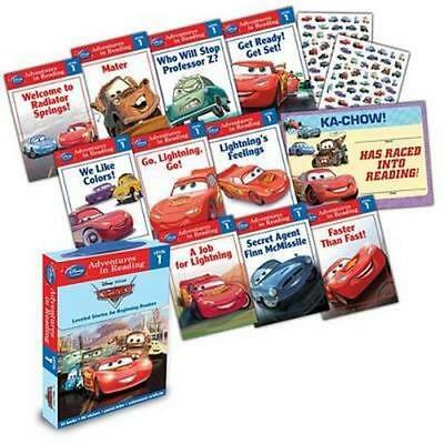 NEW Reading Adventures : Cars Boxed Set By Disney Book Group Free Shipping