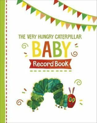NEW The Very Hungry Caterpillar Baby Record Book Record Book Free Shipping