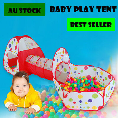 Child Tent Pipeline Crawling Huge Game Play House Baby Play Yard Ball Pit Pool