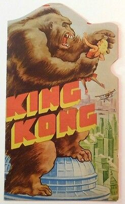 KING KONG - Vintage 1933 RKO Horror Film Classic COLOR MOVIE HERALD Fay Wray