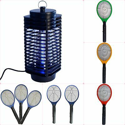 Bug Zapper Swatter/Electric 220V UV Mosquito Fly Wasp Insect Killer Catcher Trap