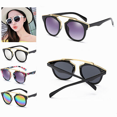Fashion Men Women's Vintage Retro Color Film Sunglasses  Eyewear Shades Glasses
