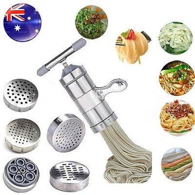 Kitchen Noodle Machine Stainless Steel Pasta Fruit Juicer Press Spaghetti Maker