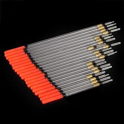 20pcs/set Waggler Foam Fishing Floats Floating Rod Carp Tube Indicator