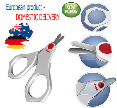 NAIL SCISSORS For Baby Easy Cut Newborn Nail Health Care Body BPA FREE Infant