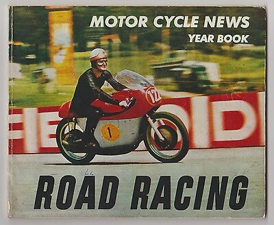 Derek Minter & Paddy Driver Motorcycle Racers 1963 Year Book Rare Hand Signed