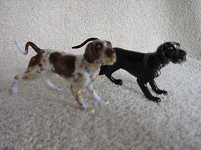 Short Haired German Pointer Dog Salt and Pepper Shakers