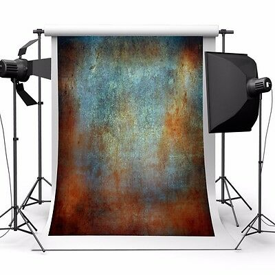 Mohoo 5x7ft【Vintage Wall】Silk Backdrop Photo Prop Studio Photography Background