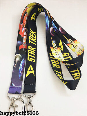 Star Trek Video Game Neck Strap Lanyard Mobile Keys ID Keychain New Otaku Gift