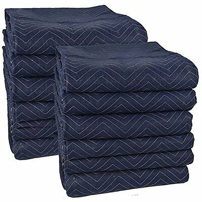 "Pro Moving Moving Blankets Blankets (12-Pack) 72"" 80"""